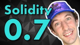 What's new in Solidity 0.7? New Features & Breaking Changes