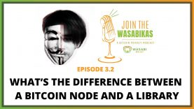 What's the difference between a Bitcoin node and a library
