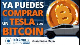 🔵 🚘 Ya puedes COMPRAR un TESLA con BITCOIN – Bit2Me Crypto News – 25.03.2021